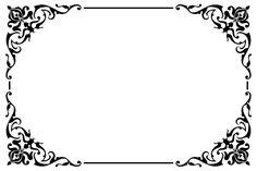 borders and frames Frame Border Design, Boarder Designs, Page Borders Design, Calligraphy Borders, Islamic Calligraphy, Floral Frames, Free Printable Wedding Invitations, Stationary Printable, Doodle Frames