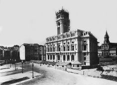 Construção da Câmaro do Porto - 1947 pelo ARq. Barry Parker