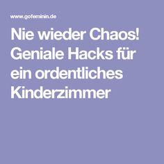 Nie wieder Chaos! Geniale Hacks für ein ordentliches Kinderzimmer