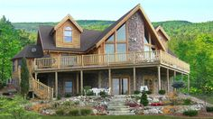 magnificent log home cabin kits that yes you can build brentwood rh pinterest com