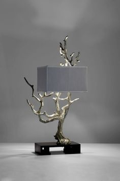 """""""It takes a touch of genius - and a lot of courage - to move in the opposite direction"""" - E.SCHUMACKER - (Light and Sculpture by Cyan Design) Driftwood Lamp, Wood Lamps, Outdoor Light Fixtures, Outdoor Lighting, Loft Lampe, Desk Lamp, Table Lamp, Lampshades, Lamp Light"""
