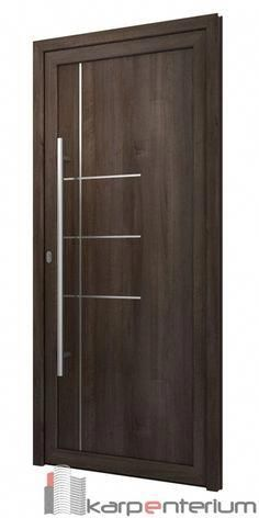 Interior wood doors are naturally beautiful. This is especially true if you are going to choose solid hardwood. Modern Wood Doors, White Wooden Doors, Modern Exterior Doors, Internal Wooden Doors, Rustic Doors, White Doors, Flush Door Design, Door Gate Design, Bedroom Door Design