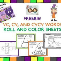 FREE Halloween Apraxia Roll & Say  - Twin Speech Language and Literacy LLC