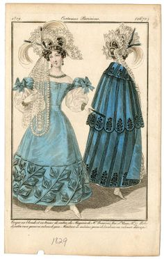 Women 1827-1829, Plate 117. Fashion plates, 1790-1929. The Costume Institute…