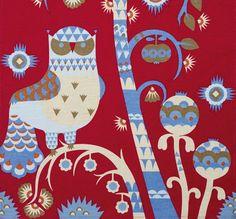 Ittala's New Owl Motif Tea Towel From Taika Series