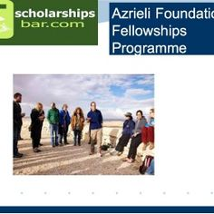 Azrieli Foundation Fellowships Programme for Postdoctoral Research to Canadian Citizens in Israel , and applications are submitted till Wednesday, November 30th , 2017 .Azrieli Foundation offers Fellowships for Postdoctoral Students in Israel.The Azrieli Fellows Program is currently open to scholars at the postdoctoral level who are Canadian citizens or who have completed their doctorates at Canadian universities.