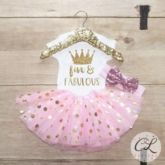 Welcome to Courtney Leigh Prints! THIS LISTING IS FOR THE T-SHIRT ONLY. IF YOU WOULD ALSO LIKE THE TUTU AND/OR HEADBAND SHOWN, PLEASE VISIT THIS LISTING: https://courtneyleighdesigns.com/listing/539866076/five-fabulous-birthday-tutu-outfit-set We, at Courtney Leigh Prints, are