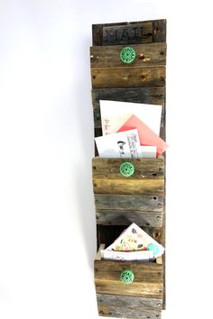 I am obsessed with this mail organizer from Prosser Bros!  It is the perfect piece to help you get organized this year! #sixsistersstuff #decor #organization