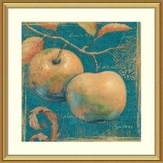 'Lovely Fruits II' by Daphne Brissonnet Framed Graphic Art