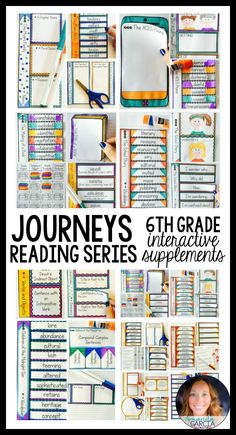 Are you looking for enriching, rigorous interactive activities to add some pizzazz to your Journeys Reading Series? These fun printables are aligned to the Common Core and match the sixth grade Journeys Curriculum lesson by lesson. Students love them!