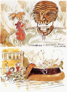 Ghibli Concept Art Collection 29