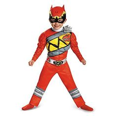 Disguise Red Ranger Dino Charge LightUp MotionActivated Costume Large 46 * Be sure to check out this awesome product.