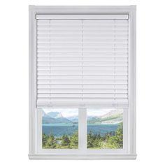 Buy Calyx Interiors Cordless Curved Slats Vinyl Blinds, W x H, White Vinyl Blinds, Horizontal Blinds, Window Treatments, Hardware, Shades, Interiors, Windows, Curtains, Home Decor