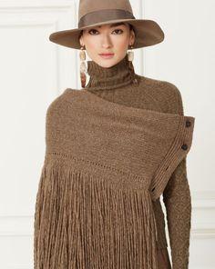 Cashmere Fringed Scarf - Scarves  Hats, Scarves & Gloves - RalphLauren.com