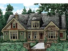 Floor Plans AFLFPW26381 - 2 Story Cottage Home with 4 Bedrooms, 4 Bathrooms and 3,139 total Square Feet