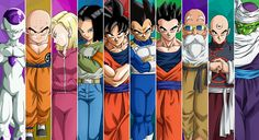 Team Universe 7 For The Tournament Of Power
