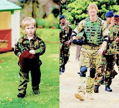 Prince Harry - always interested in the military!