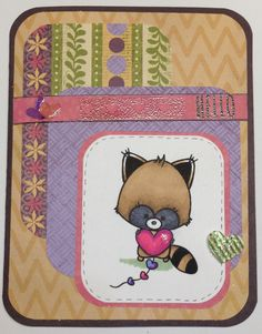Creative Love Affair: Mojo Monday & Kitty Bee Designs! Happy Valentines!