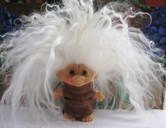 "Vintage DAM Troll Doll ""Clarisse with the WILD HAIR!""   Dolls & Bears, Dolls, By Type   eBay!"