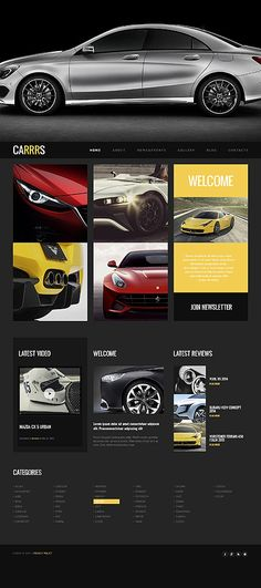 free website template car auto project webdesign http www