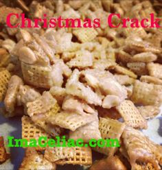 Gluten Free Christmas Crack. The perfect treat for the holidays!