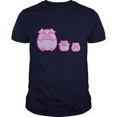 three cute pigs Kids Shirts  Kids TShirt