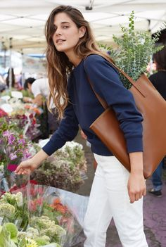 The Day Tote | Everlane    Every. Damn. Day.    Morning to night. Monday to Sunday. We needed a leather tote that worked hard—and looked damn good doing it. Introducing the Day Totes.