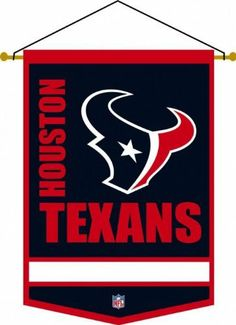 Houston Texans NFL Football Traditions Banner by Winning Streak Sports. $36.95. Houston Texans NFL Football Traditions Banner. The Traditions Banner measures 12''W x 18''H and comes ready for hanging including a rod with cord attached. Individually hand-crafted.
