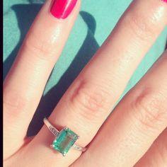 emerald ring idea for my brazilian emerald