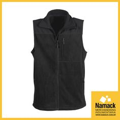 Junio empieza con frío, ¡abrigate!  - Chaleco Doble anti pilling. - 100% Polyester 220 gr/m2. - Posee 3 bolsillos (2 laterales inferiores y 1 lateral derecho superior). - Con Logo Personalizado. - Cantidad Mínima: 25.  Consultanos en info@namack.com.ar o llamanos al 4717-0835.  #Chaleco #Clothes #Work #Merchandising #Namack #Miércoles #frío #coldyday #cloudyday