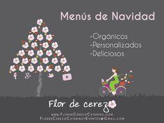 Disfruta de la Navidad con los menús de Flor de Cerezo Catering
