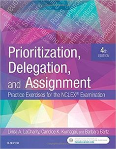 Prioritization Delegation And Assignment Practice Exercises For The NCLEX Examination