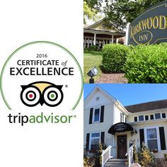 Congratulations to Kirkwood Inn in Lebanon and The Wildflower Cafe in Mason for each receiving a 2016 TripAdvisor Certificate of Excellence!