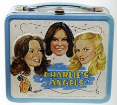Cheryl Ladd, Kate Jackson, and Jaclyn Smith kicked butt on the show Charlie's Angels -- enough to land their faces on this awesome retro lunchbox from 1978!