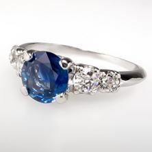 Sapphire Engagement Rings - EraGem....  Looks like mine!!