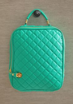 Quilted Delight IPad Case In Teal | Modern Vintage Purses    Ipad carrier for meeting with clients for viewings!