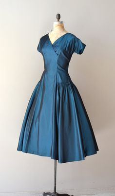 vintage 1950s dress / 50s dress / Musikalische dress by DearGolden