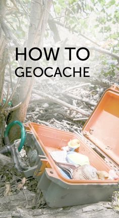 How to geocache. Get started easily today with just a cell phone (no subscription or app fees). Such a fun way to explore the world around you.