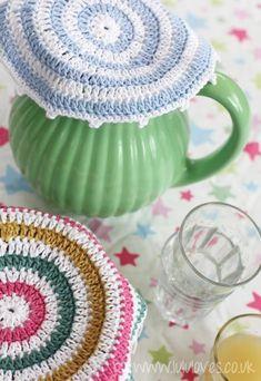 Just Like Grannies – Crochet Food Covers