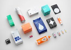Swedish studio Stockholm Design Lab created this beautifully minimalistic brand identity and packaging system that works across a range of products for Askul, a Japanese chain of office supplies stores.    More branding inspiration via Rnche