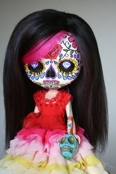 day of the dead ideas..... little scary  but cute