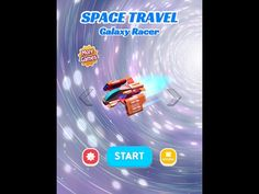 SPACE TRAVEL Galaxy Racer android game first look gameplay español