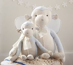 Happy and huggable, this little monkey is joyfully anticipating being with his best friend forever.