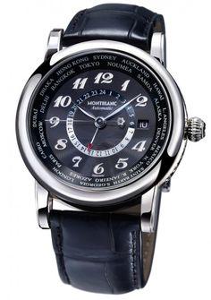 Montblanc, Star Worldtime GMT Automatic http://livelovewear.com/womensaccessories