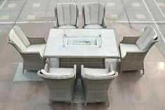 You can sit, Lie, swing even jump on the furniture of choice. Fire Pit Dining Set, Fire Pit Patio Set, Dining Sets, Dining Table Chairs, Garden Cushion Storage, Garden Cushions, 3 Seater Swing, Garden Furniture, Outdoor Furniture Sets
