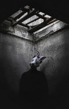 Eerie | Creepy | Surreal | Uncanny | Strange | 不気味 | Mystérieux | Strano | horror rabbit | by Giorgia Cinelli