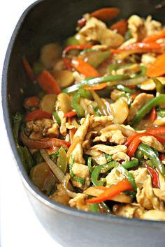 Stir Fry Recipes, Spicy Recipes, Mexican Food Recipes, Dinner Recipes, Cooking Recipes, Healthy Recipes, Thai Cooking, Tai Food Recipes, Thai Basil Recipes