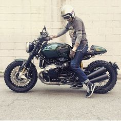 Damn @pluxus! Sick #rninet #r90 #r9t #bmw going to test ride one on Monday! #brapmachine