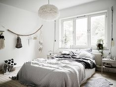 Light Scandinavian bedroom