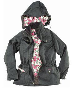 Barbour & Liberty London collaboration.